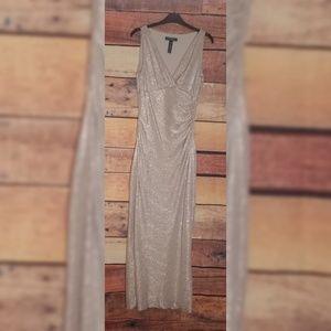 Lauren Gold Gown size 4